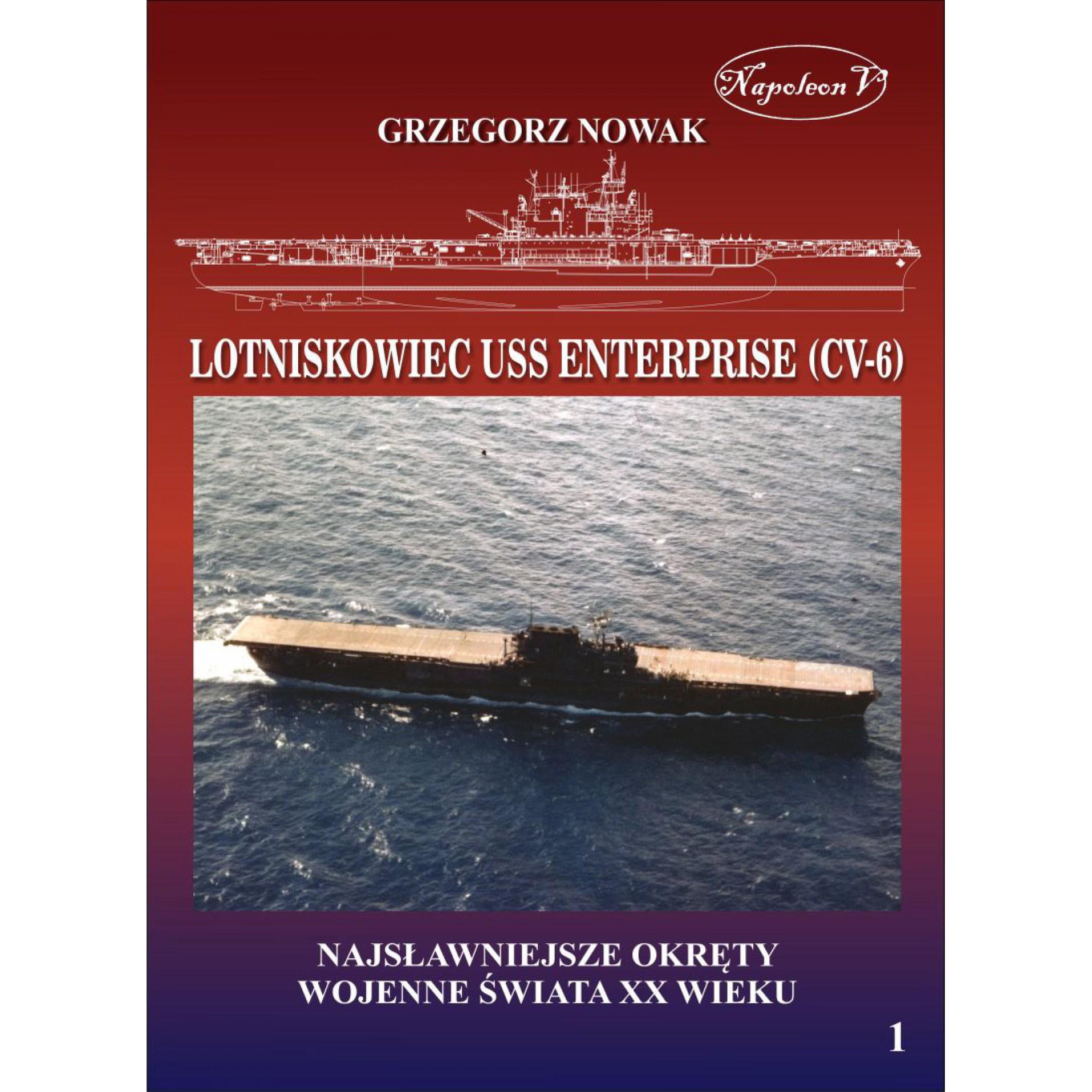 Amerykański lotniskowiec z II wojny światowej USS Enterprise (CV-6)