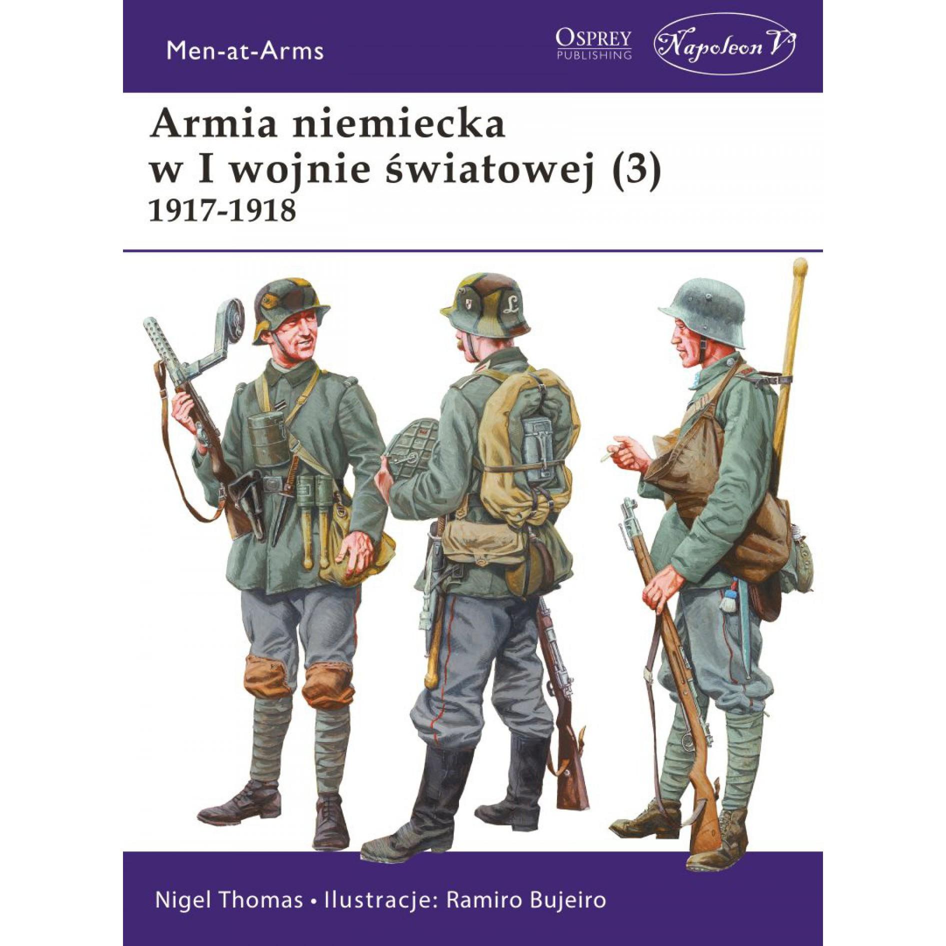 Armia niemiecka w I wojnie światowej (3) 1917-1918