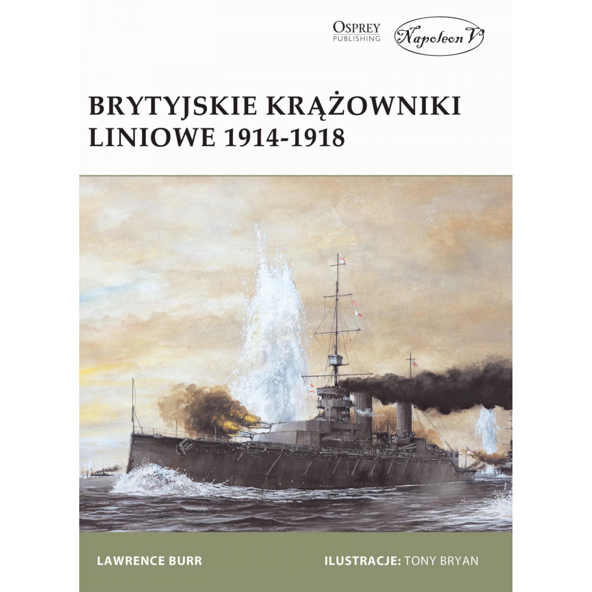 Brytyjskie krążowniki liniowe 1914-1918