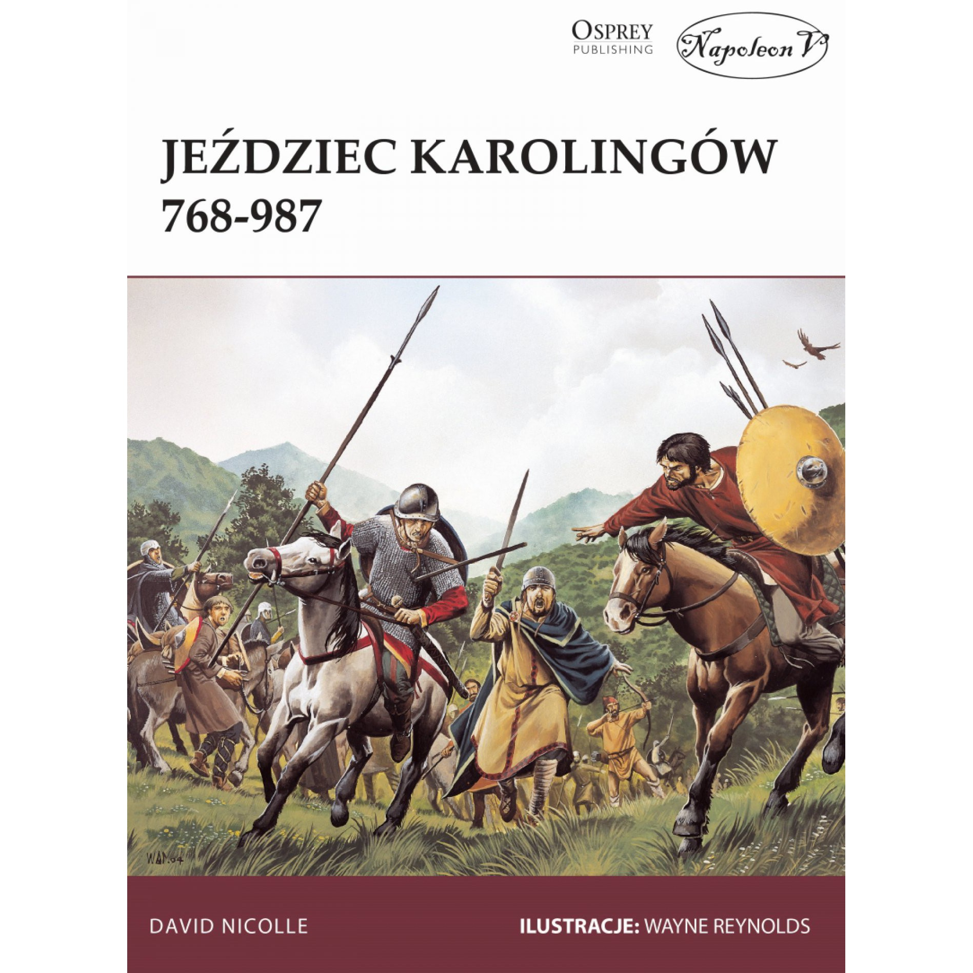 Jeździec Karolingów 768-987