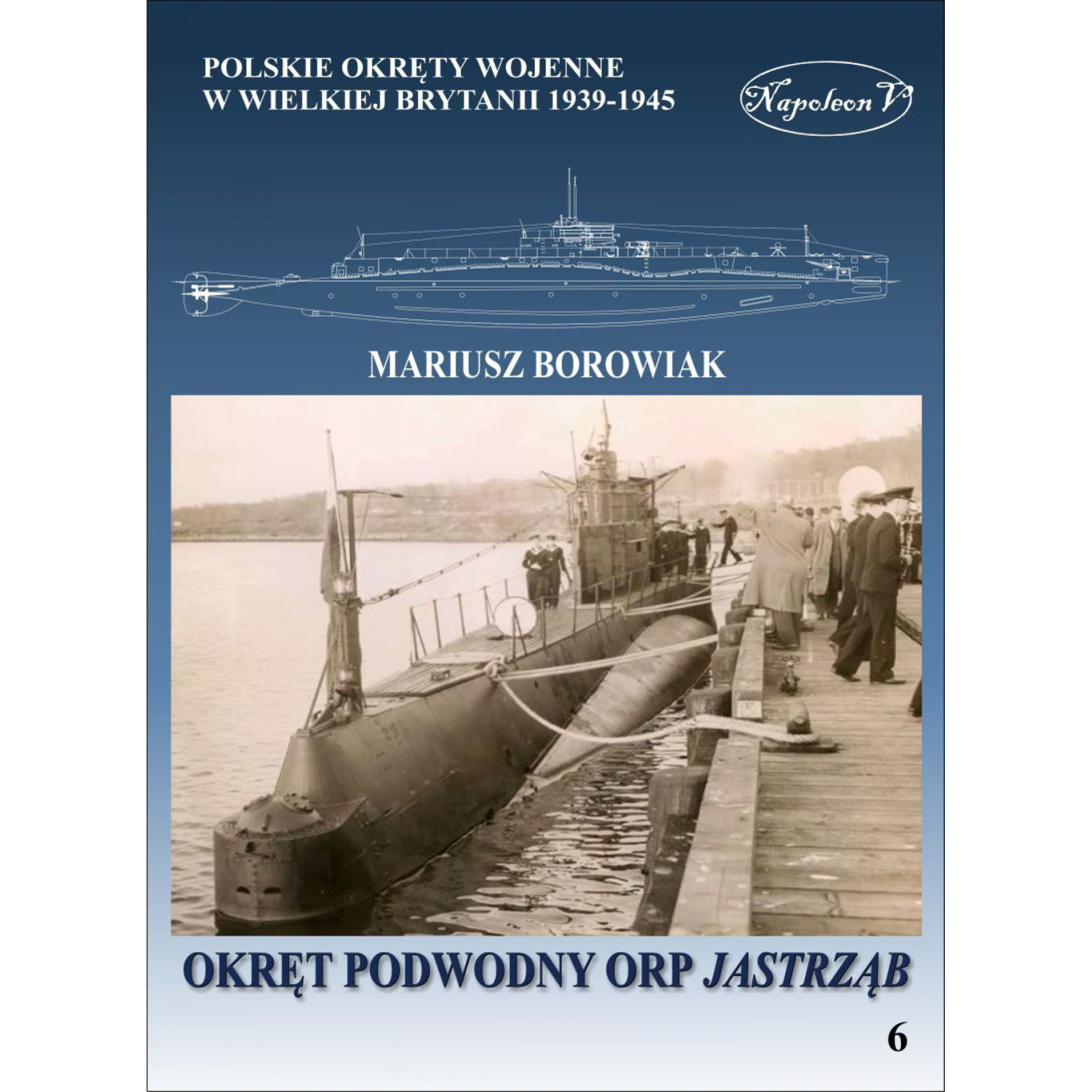 Okręt podwodny ORP Jastrząb