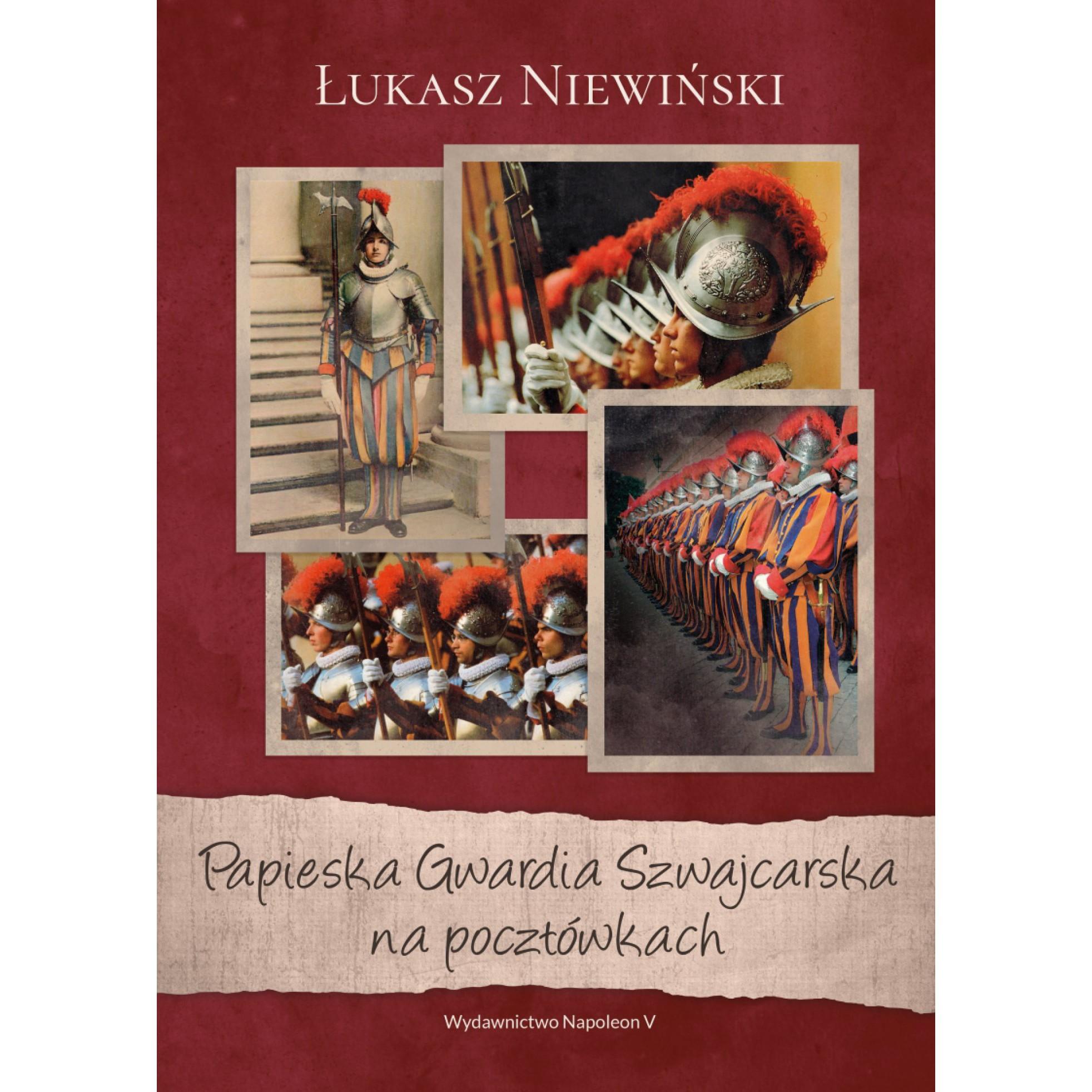 Papieska Gwardia Szwajcarska na pocztówkach